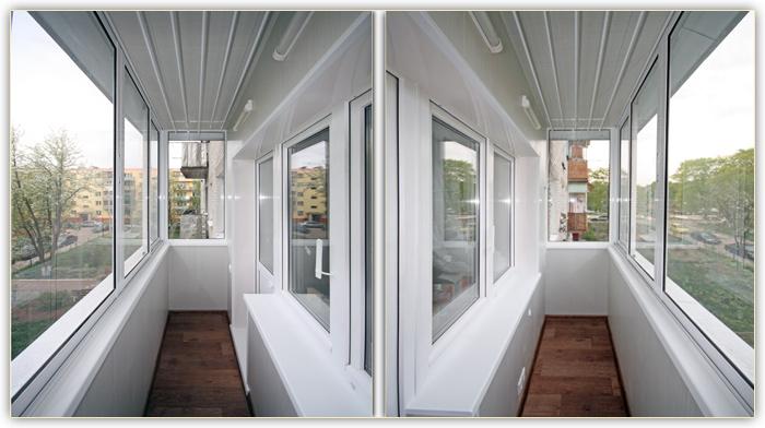 отделка балконы и лоджии фото